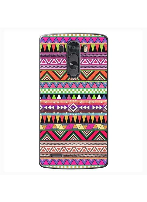 People's Cover LG G3 Kabartmalı Kapak Renkli